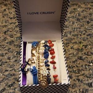 Nautical bracelet set !